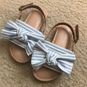Toddler Girl Bow Sandals